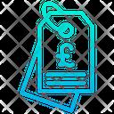 Pound Label Icon