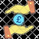 Mreceive Loan Pound Loan Loan Icon