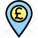Pound Location Money Location Pound Icon