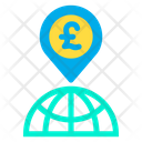 Pound Location Icon