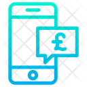 Mobile Chat Pound Chat Icon