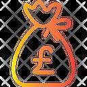 Pound Money Bag Icon