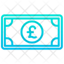 Pound Note Pound Cash Cash Icon