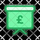 Pound Presentation Icon