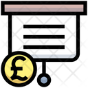 Business Financial Lecture Icon