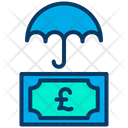 Pound Insurance Money Icon