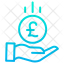 Pound Save Icon
