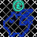 Pound Savings Icon