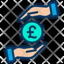 Safe Pound Protected Pound Secure Pound Icon