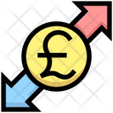 Pound Sharing Pound Money Icon