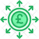 Pound Spending Invest Icon