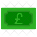 Pound Sterling Banknote Country Icon