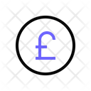 Pound Sterling Money Currency Icon