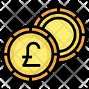 Pound Sterling Finance Cash Icon
