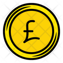 Pound Sterling Coin Money Coin Icon