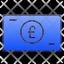 Pound Sterling Money Icon