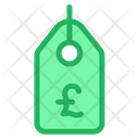 Tag Pound Offer Tag Icon