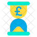 Pound Time Icon
