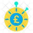 Pound Time Budget Icon