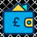 Pound Wallet Cash Icon
