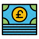 Poundsterling Currency Payment Icon