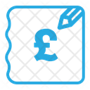 Poundsterling Bill Icon