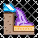 Foundation Pouring Base Icon
