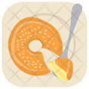 Egg Pudding Caramel Icon