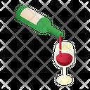 Pouring Wine Icon