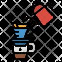 Pourover Coffee Hario Icon