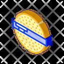 Powder Ball Isometric Icon