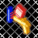 Powder Coating Isometric Icon