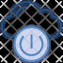 Cloud Storage Power Icon