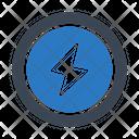 Power Flash Bolt Icon