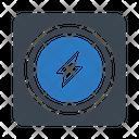 Power Energy Bolt Icon
