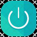 Power Button On Icon