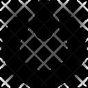 Multimedia Glyph Power Music Icon