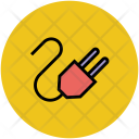 Power Cord Line Icon