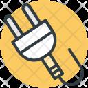 Power Plug Cord Icon