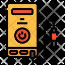 Recharge Electronics Battery Icon