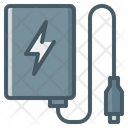 Power Bank Portable Device Charging Device Icon