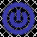 Power Button Power On Icon