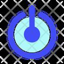 Button Internet Business Icon