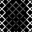 Unique Down Icon