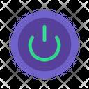 Power Button Computer Cpu Icon