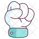 Power Gesture Fist Hand Gesture Icon