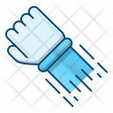 Power Hit Hand Icon
