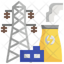 Power Industry Power Plant Industrial Icon