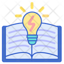 Power Of Knowledge Book Learning Icon