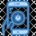 Power Off Shutdown Smartphone Icon